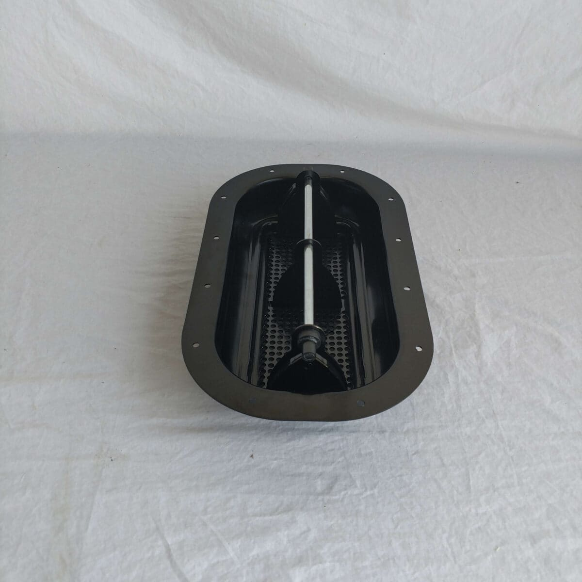 Black Steel Popup Air Flow Roof Vent High Profile W