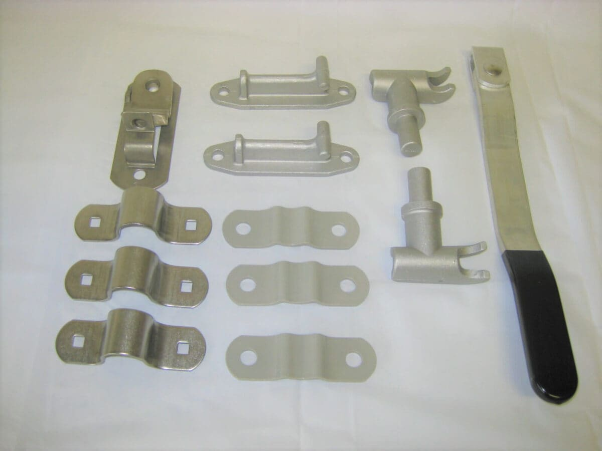 Picture of: Aluminum Trailer Bar Door Lock Latch Assembly Bl470 Dogboxparts