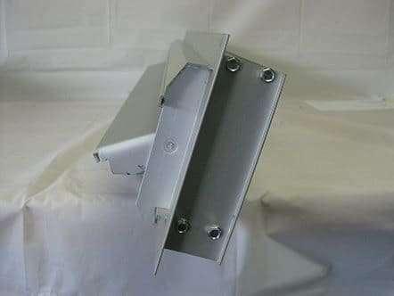 Single Blade Adjustable Side Louver 31 W X 6 5 8 H