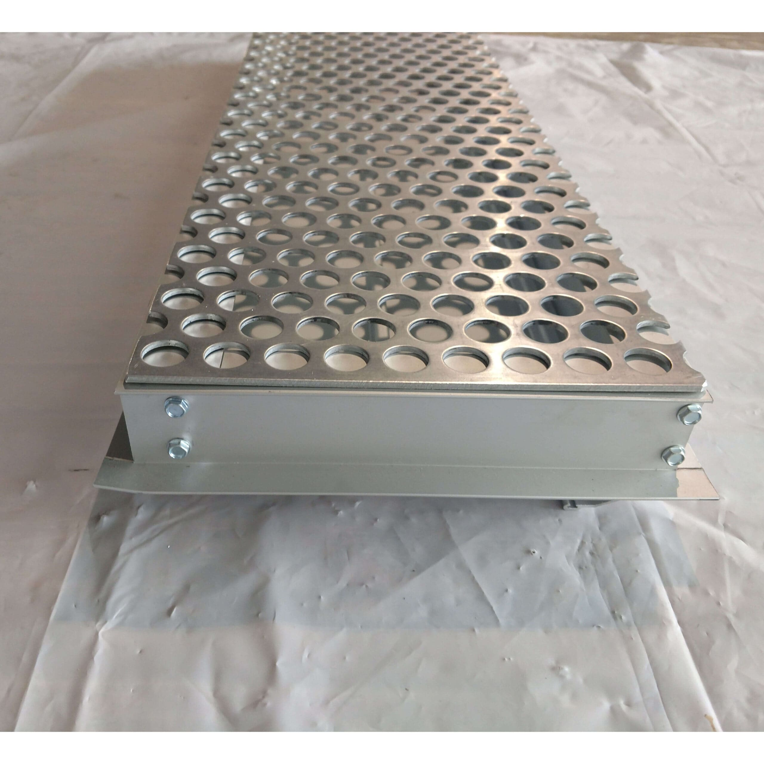 Two Blade Side Louver Venting Screen For 31 L X 2 Blade