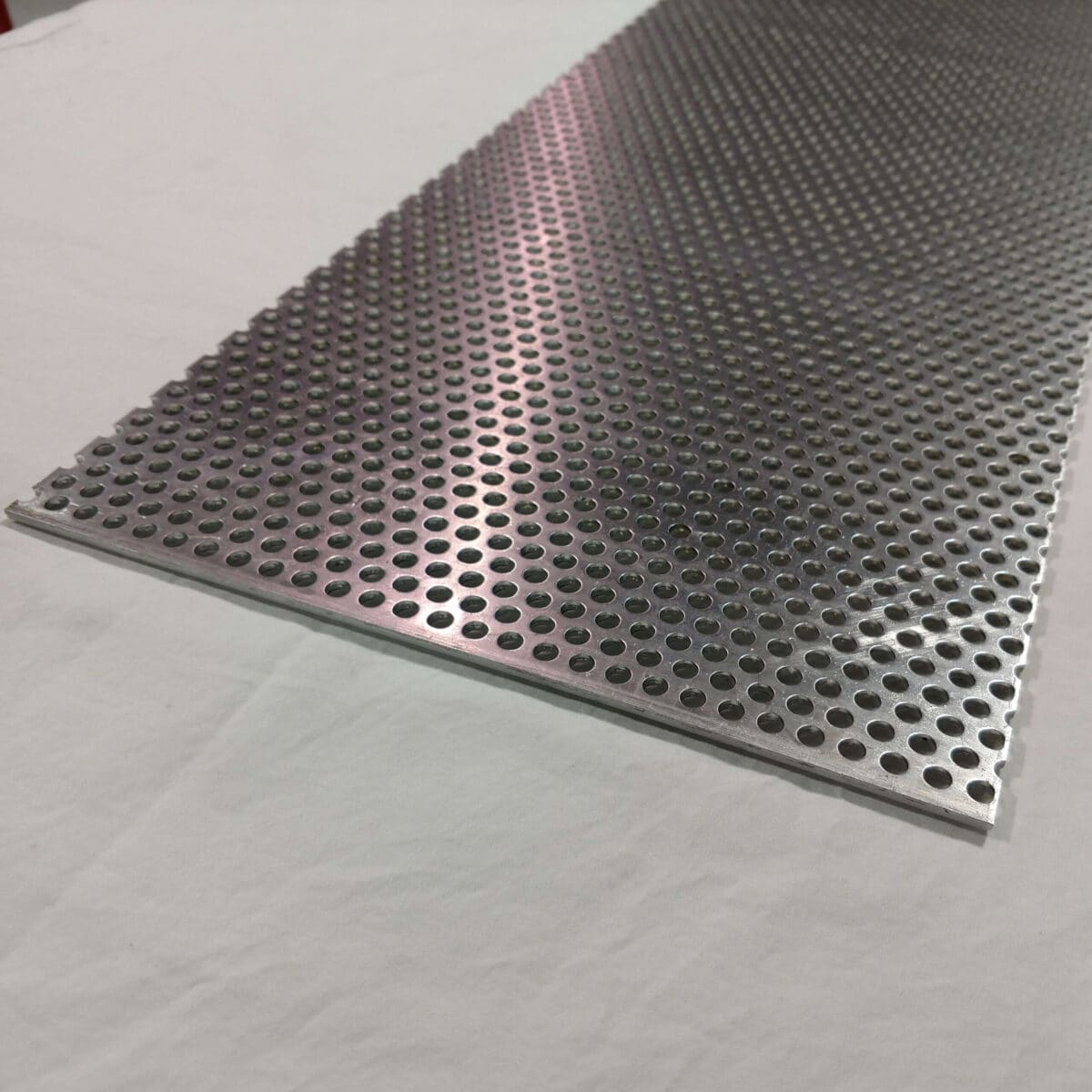 Aluminum Perforated Sheet 1 8 Thick 1 4 Hole 3 8